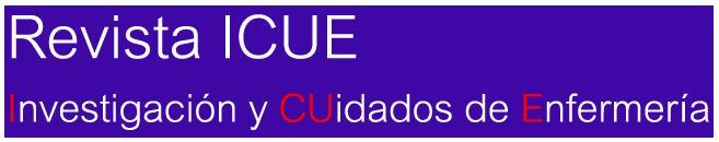 Revista ICUE. Investigación y CUidados de Enfermería